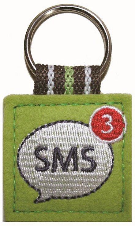 appisyourlife App Schlüsselanhänger SMS Motiv grün - Pic 1