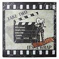 KJ Collection Metallschild Take Two Its A Wrap 24 x 24cm