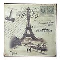 KJ Collection Metallschild Paris 24 x 24cm
