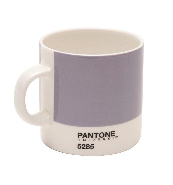 Pantone Universe Espressotasse Heather 5285 120 ml Bone China - Pic 1