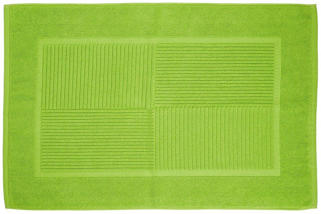 Zone Badematte Confetti 80 x 50cm limette grün - Pic 1
