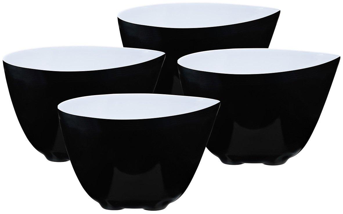 Zone Schale Mix schwarz-weiß 8cm 4er Set - Pic 1