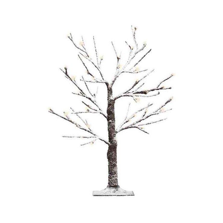 Kaemingk LED Baum beschneit 125cm außen 48 LED - Pic 1