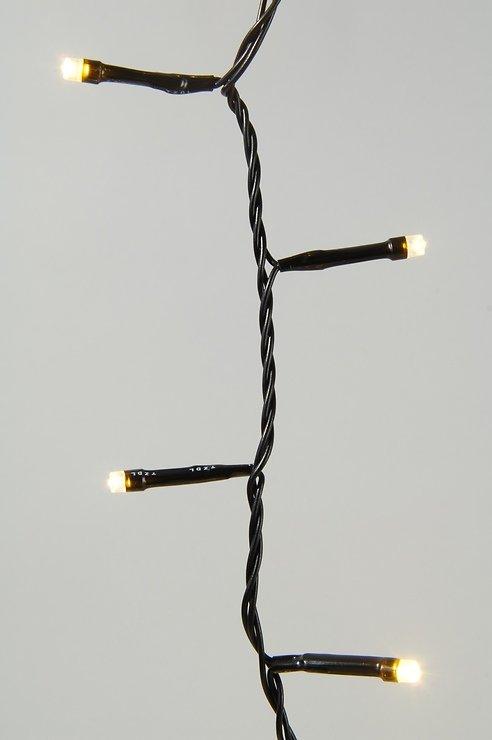 Kaemingk Lichterkette mit Dimmer 240 LED warmweiß 18m outdoor schwarz - Pic 1