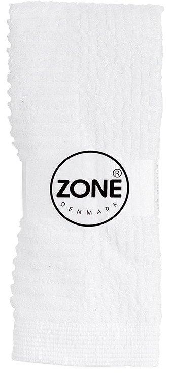 Zone Handtuch Waschlappen Classic 30x30cm weiß - Pic 1