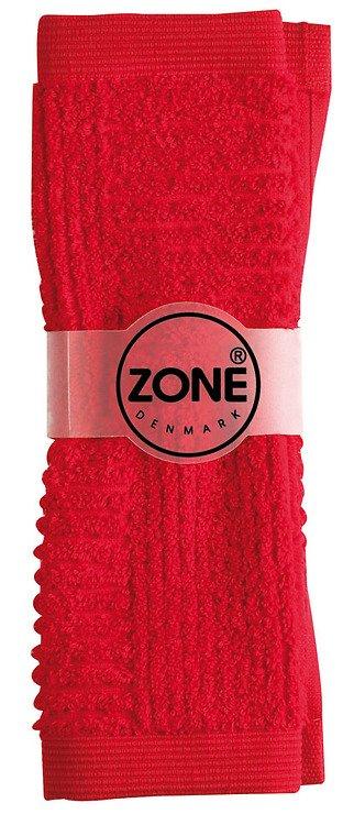 Zone Handtuch Waschlappen CONFETTI 30x30cm rot - Pic 1