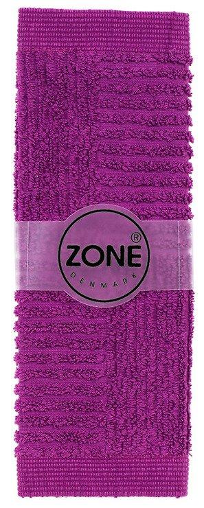 Zone Handtuch Waschlappen CONFETTI 30x30cm lila - Pic 1