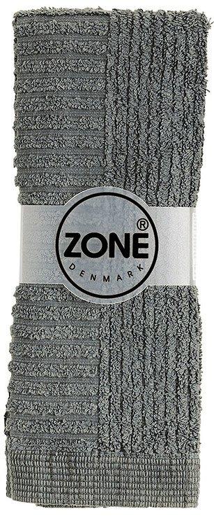Zone Handtuch Waschlappen Classic 30x30cm grau - Pic 1