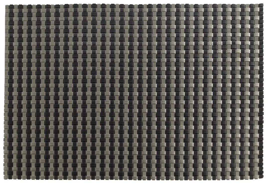 Zone Tischset Confetti schwarz/silber 30 x 40cm - Pic 1