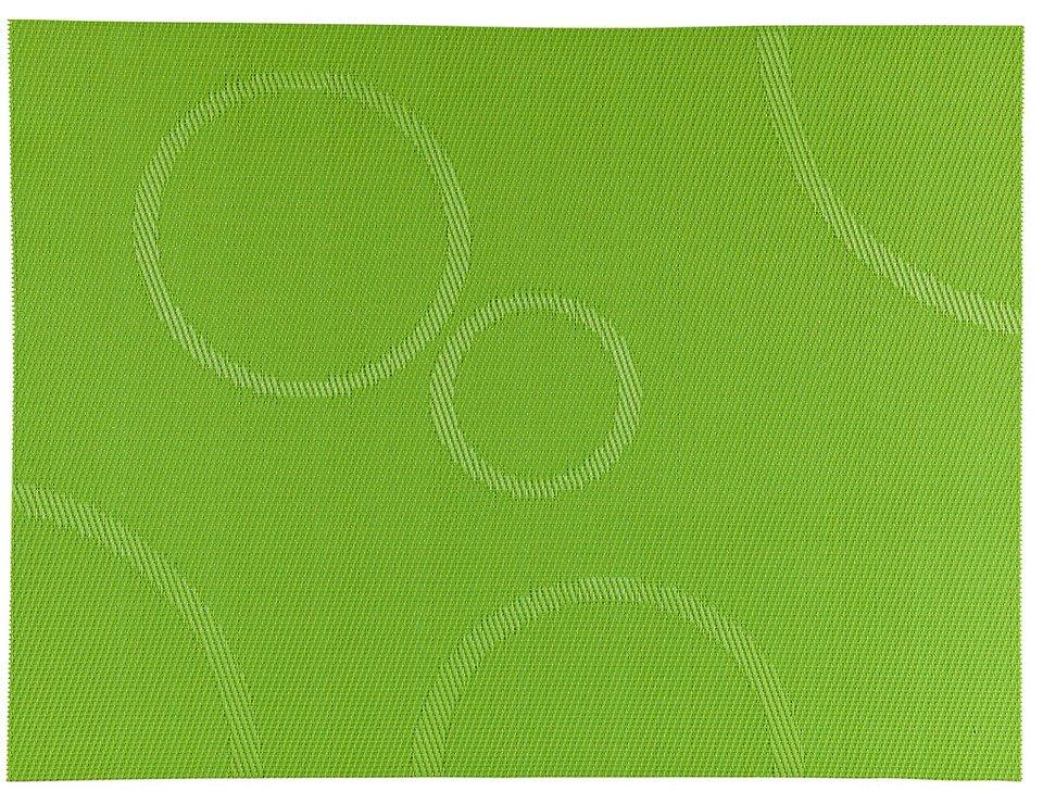 Zone Tischset Confetti mit Kreisen apfelgrün 30 x 40cm - Pic 1