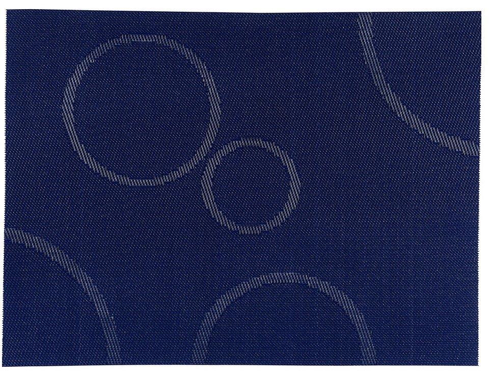 Zone Tischset Confetti mit Kreisen blau 30 x 40cm - Pic 1