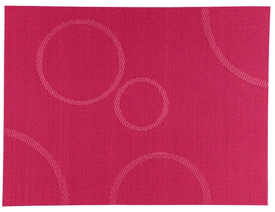 Zone Tischset Confetti mit Kreisen himbeere 30 x 40cm - Pic 1