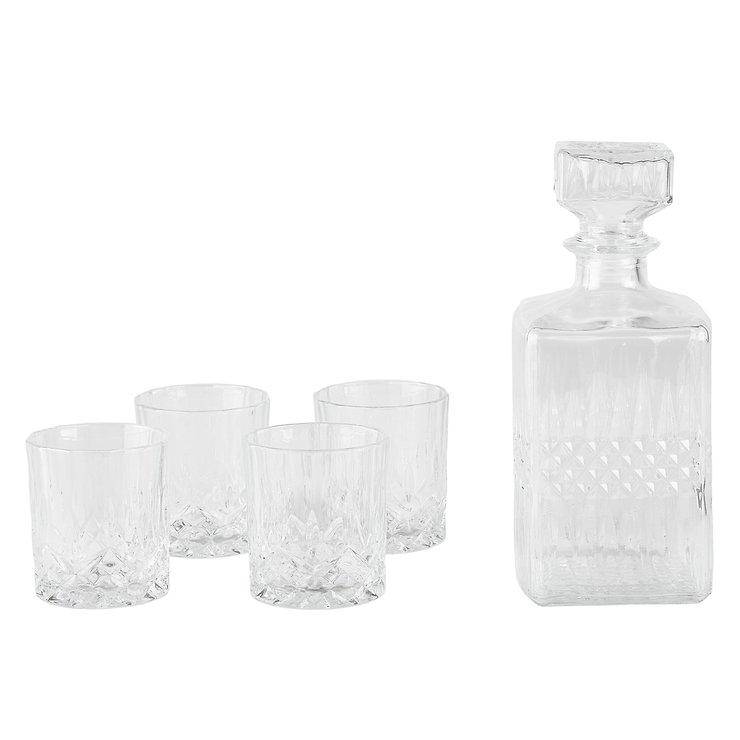 KJ Collection Whisky Set Glas 5-teilig - Pic 1