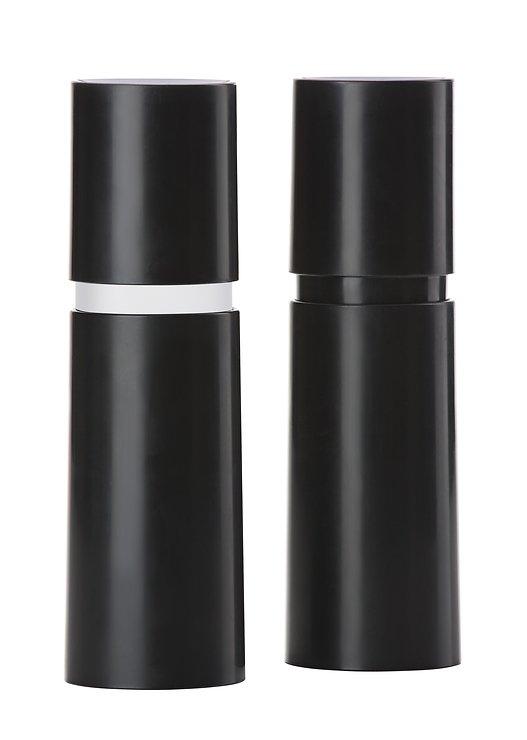 Zone Gewürzmühle Rör 5 x 18 cm schwarz 2er Set AKTION - Pic 1
