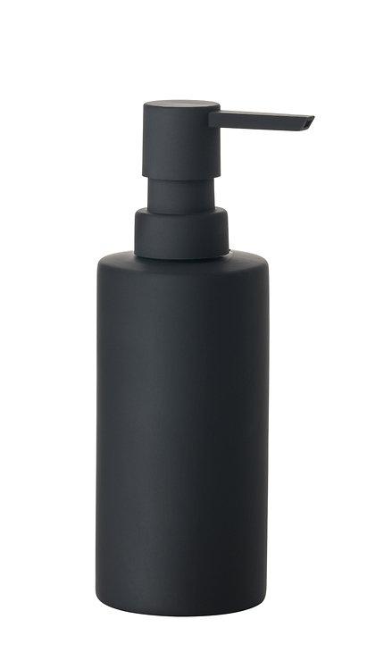 Zone Seifenspender Solo Porzellan Soft Touch schwarz matt - Pic 1