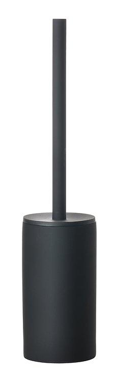 Zone Toilettenbürste Solo Porzellan Soft Touch schwarz matt - Pic 1