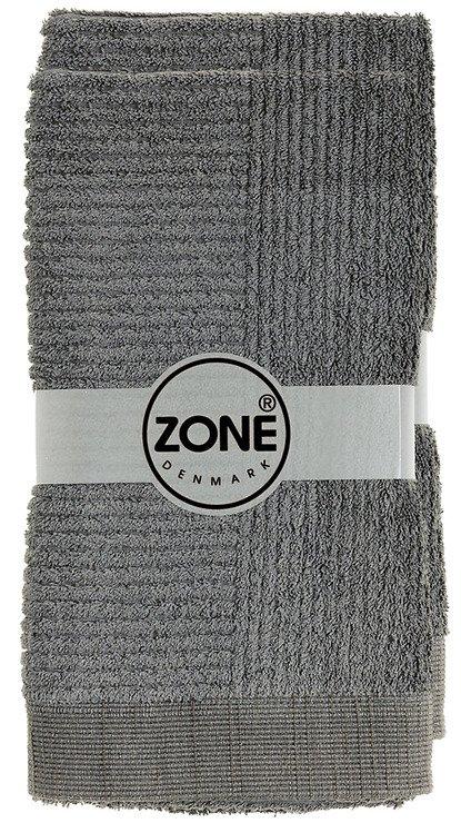 Zone Handtuch Confetti 100x50cm grau - Pic 1