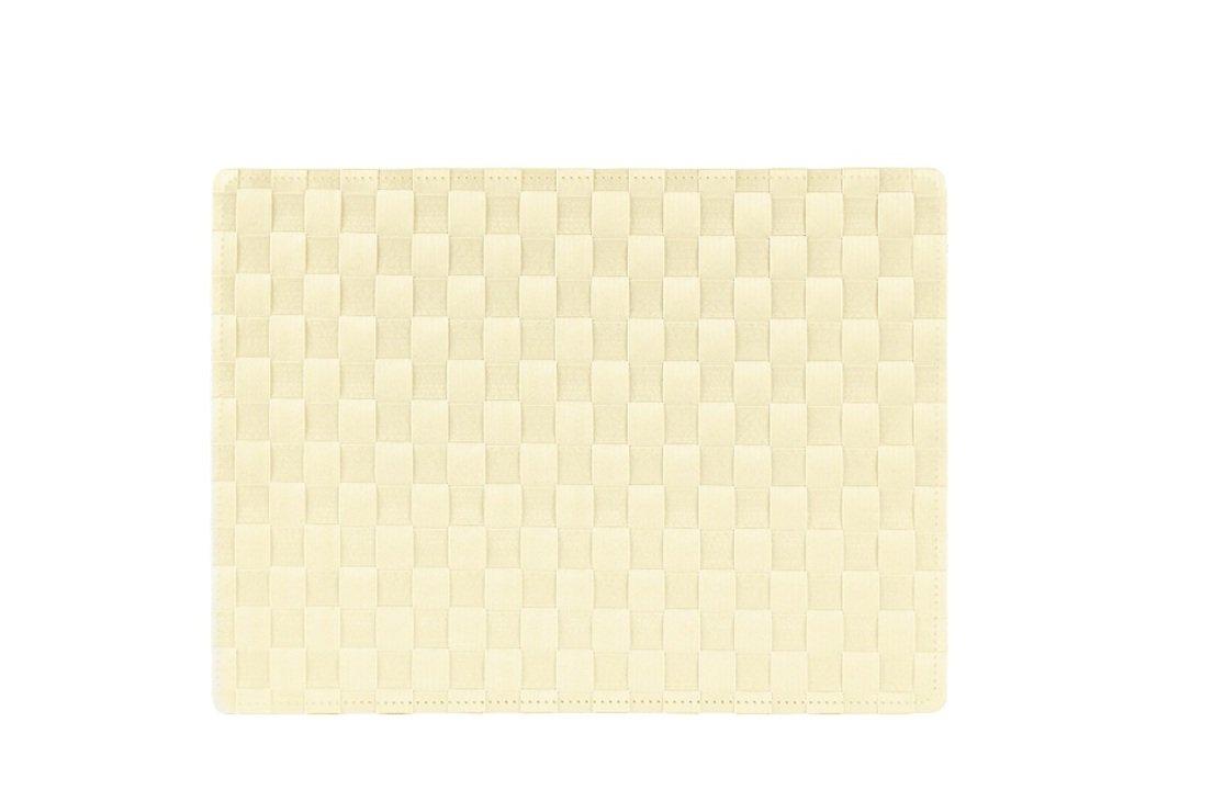 Galzone Tischset geflochten beige 30 x 40cm - Pic 1