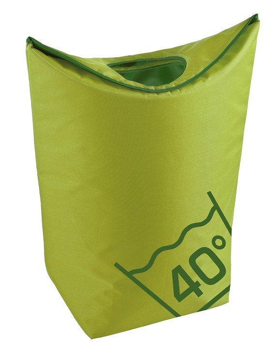 Zone Wäschekorb Confetti 45l Polyester lime grün - Pic 1