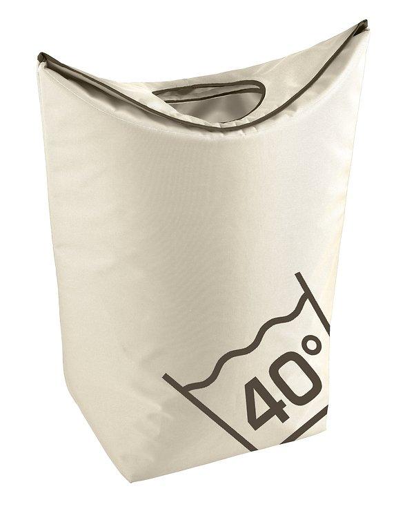 Zone Wäschekorb Confetti 45l Polyester sand - Pic 1