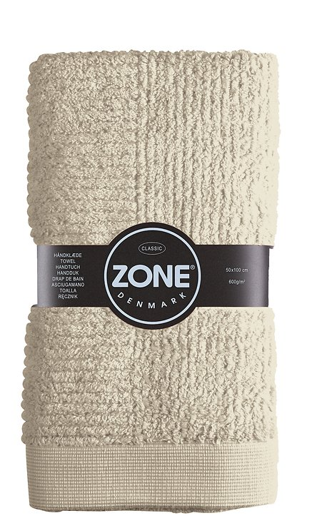 Zone Handtuch Classic Baumwolle 100 x 50cm sand - Pic 1