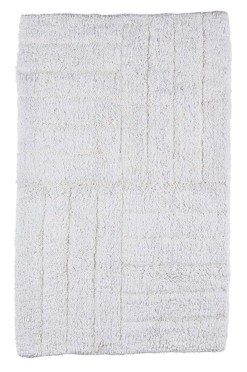 Zone Badematte 80 x 50 cm Baumwolle weiß - Pic 1