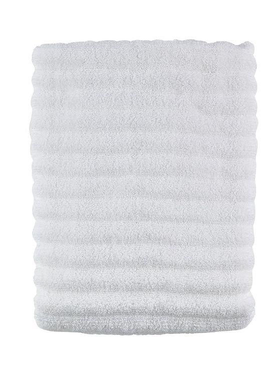 Zone Badehandtuch Prime 140 x 70 cm Baumwolle 600g weiß - Pic 1