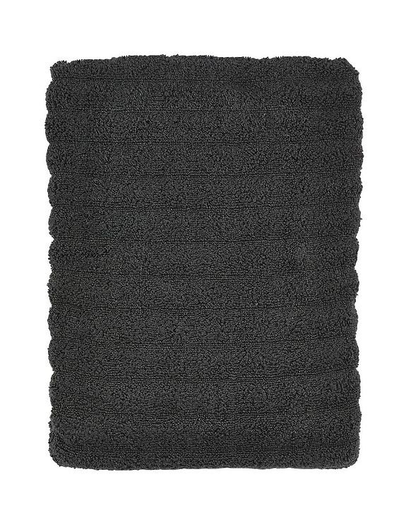 Zone Badehandtuch Prime 140x70 cm Baumwolle 600g coal grey - Pic 1