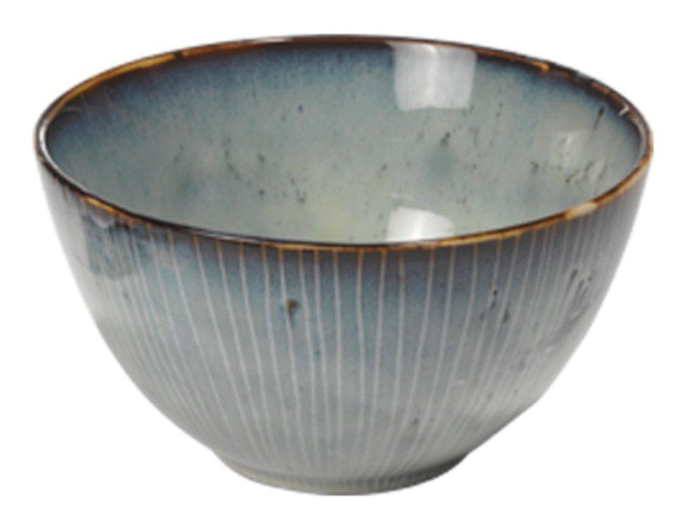 Broste Müslischale Nordic Sea 15 x 8 cm Keramik grau - Pic 1