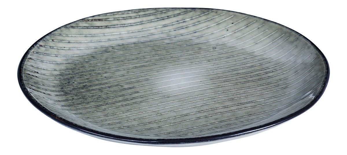 Broste Dessertteller Nordic Sea 20 cm Keramik grau - Pic 1