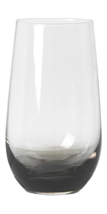 Broste Wasserglas Smoke 550ml Glas klar grau - Pic 1