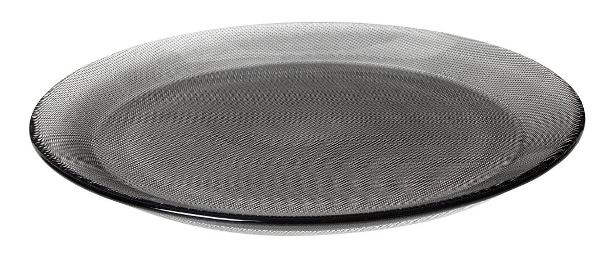 Broste Speiseteller Smoke 26,5cm Glas klar grau - Pic 1