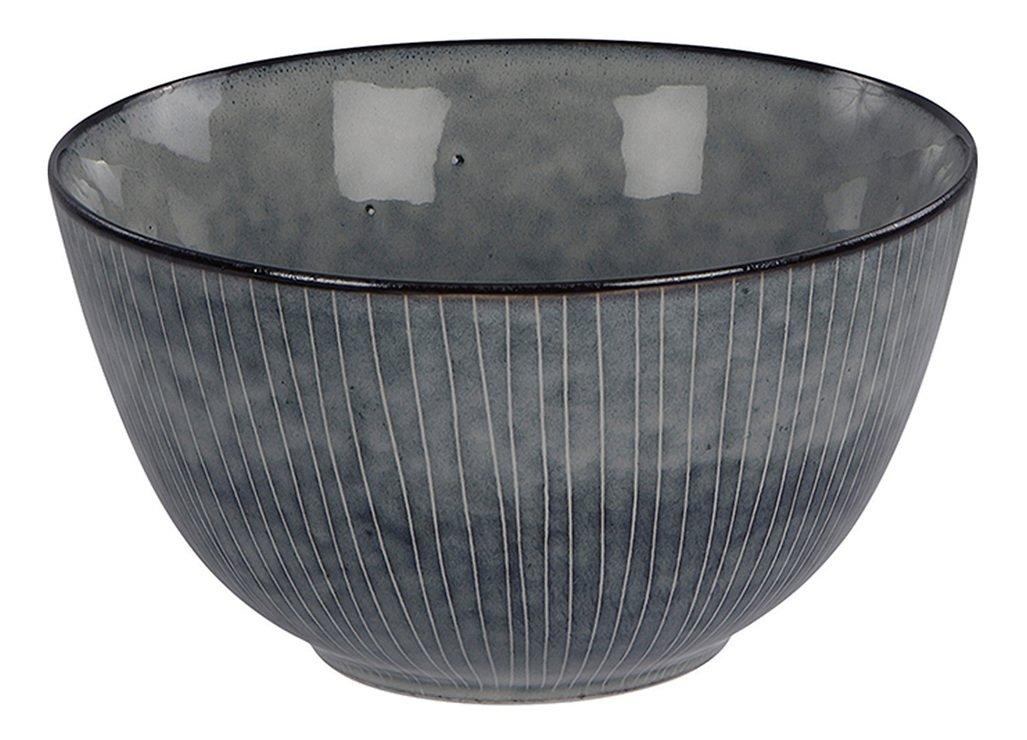 Broste Schüssel Nordic Sea 20 x 11 cm Keramik grau - Pic 1