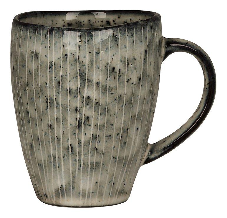 Broste Henkelbecher Nordic Sea 250 ml Keramik grau - Pic 1