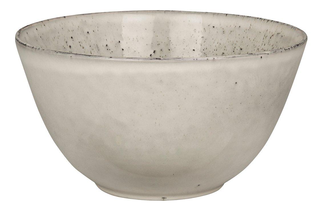 Broste Schüssel Nordic Sand 20 x 11 cm Keramik sand - Pic 1
