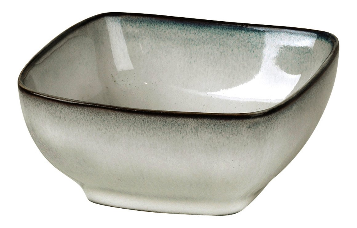 Broste Dipschale eckig Nordic Sand 8 x 4 cm Keramik sand - Pic 1