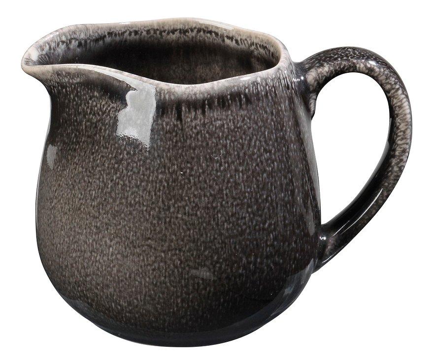 Broste Milchkännchen Nordic Coal 300ml Keramik Charcoal - Pic 1