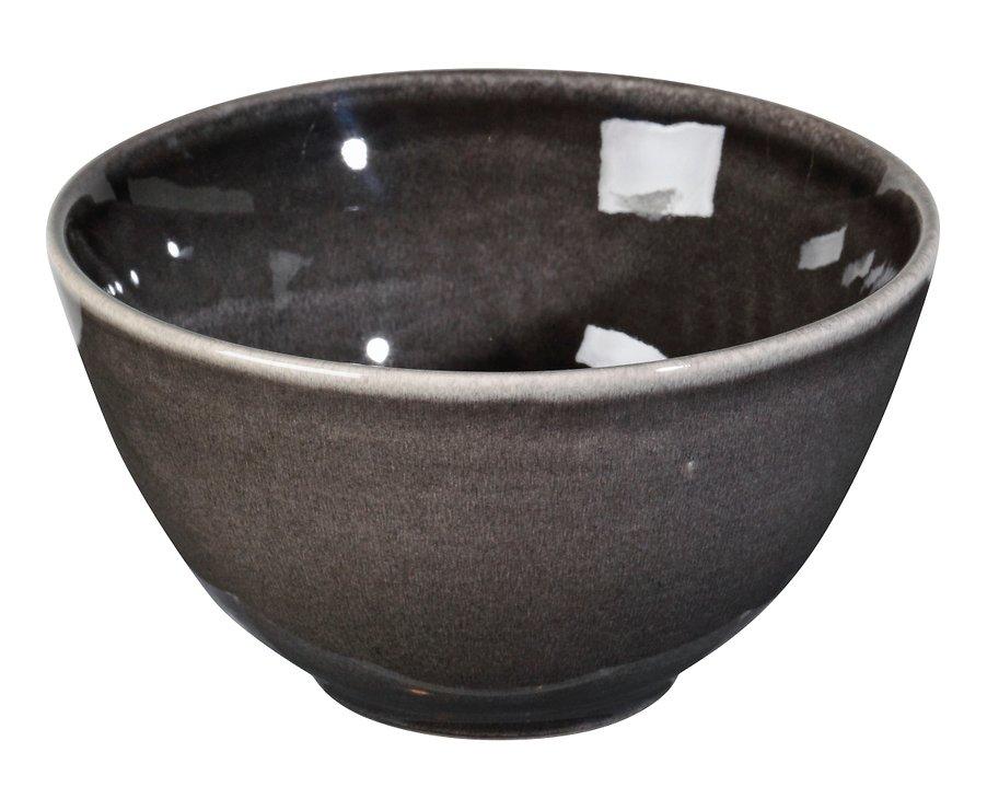 Broste Müslischale Nordic Coal 15 x 8 cm Keramik charcoal - Pic 1