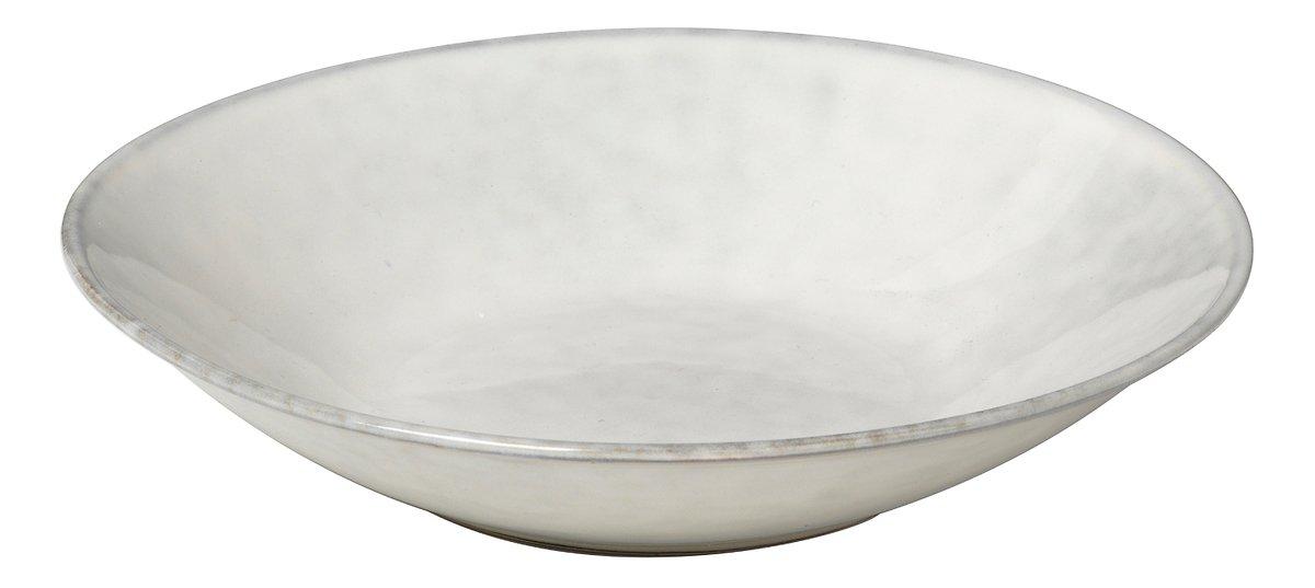 Broste Suppenteller Nordic Sand 22,5 x 5 cm Keramik sand - Pic 1