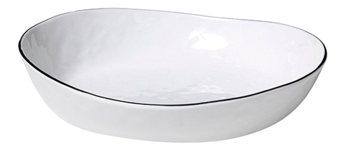 Broste Schüssel Salt 20 cm Keramik weiß - Pic 1