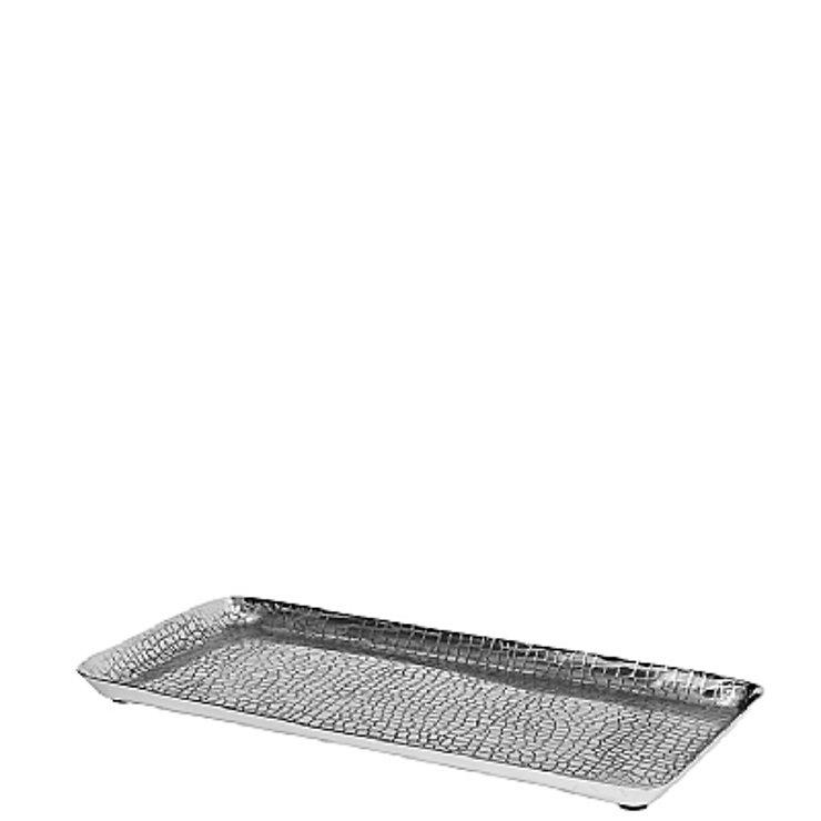 Broste Kerzenplatte 33cm Aluminium silber - Pic 1