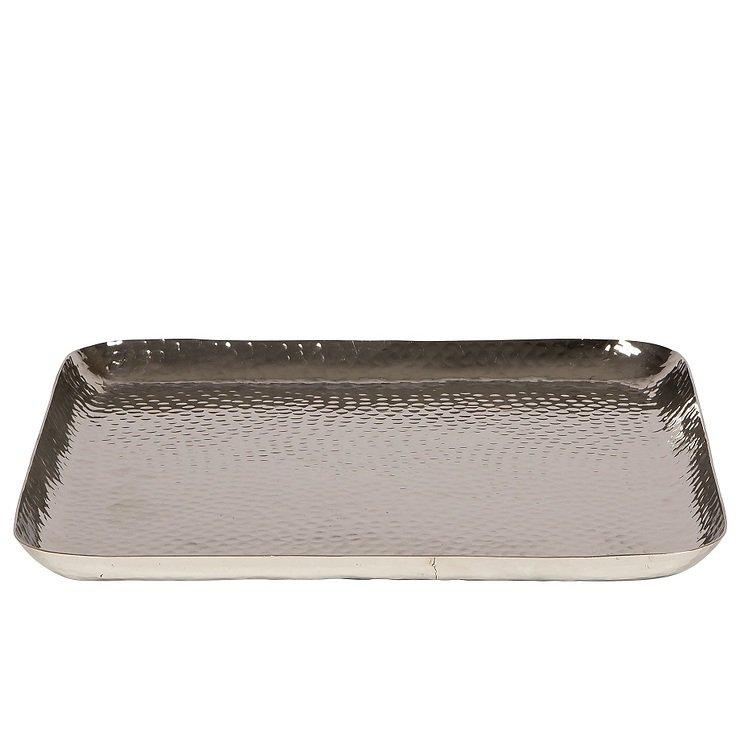 Broste Kerzenschale Kyler Aluminium 38x38cm - Pic 1