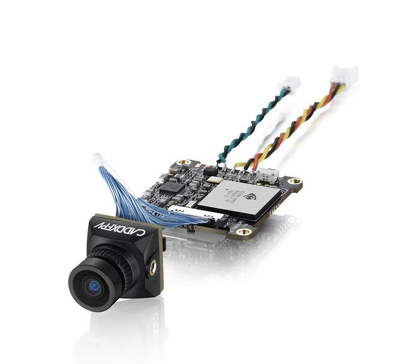 Caddx Baby Turtle 800TVL HD FPV Videokamera schwarz 20x20 - Pic 1