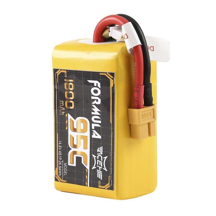 Acehe LiPo 1800mAh 4S 95C Formula Serie Batterie - Pic 1