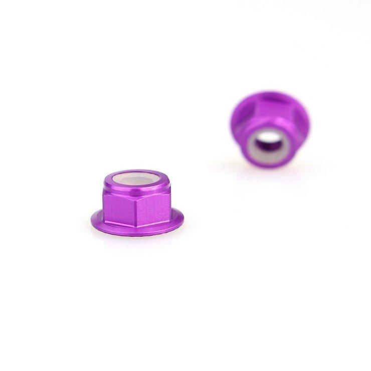 Emax Mutter M5 selbstsichernd violett - Pic 1