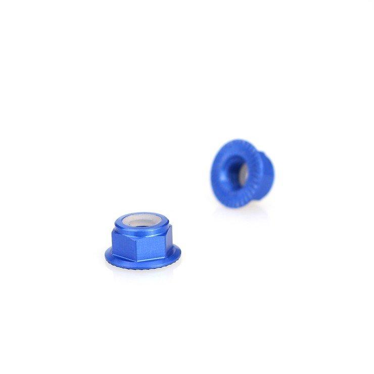 Emax Mutter M5 selbstsichernd blau - Pic 1