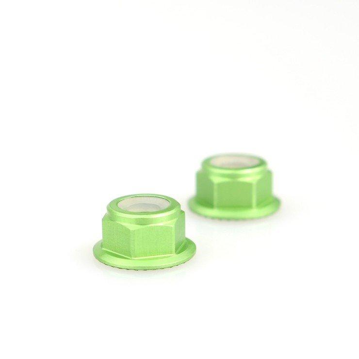 Emax Mutter M5 selbstsichernd grün - Pic 1