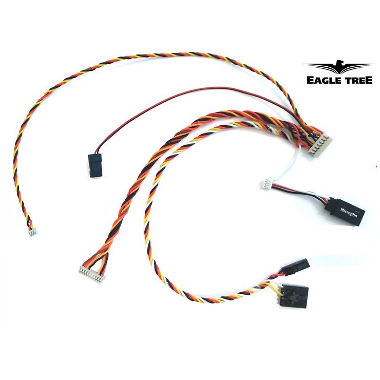 Eagle Tree Plug & Play AV Cable for Fatshark/IRC - Pic 1