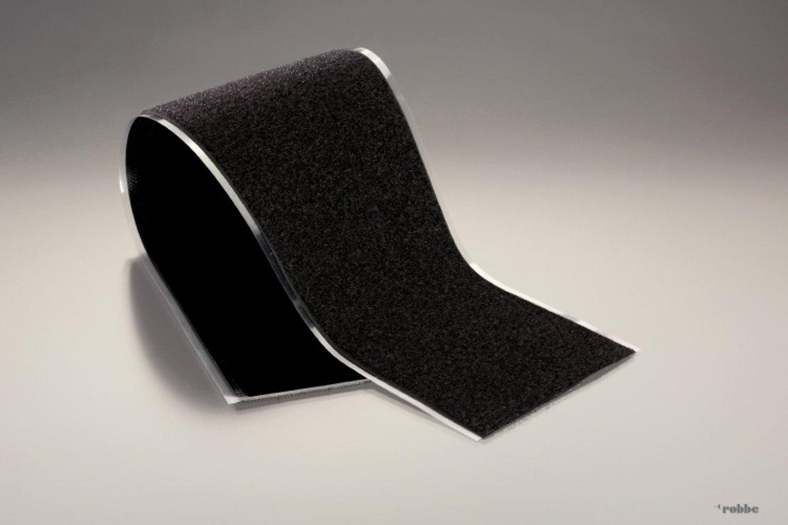 FASTECH FAST-Tape Klettband Flauschband XL 107 x 500mm schwarz - Pic 1