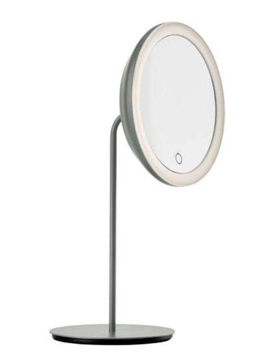 Zone Denmark Kosmetik Tischspiegel 5-fache Vergrößerung grau - Pic 1